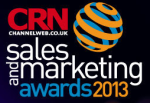 CRN sales and marketing awards image 2013